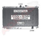 Honda Accord Race Radiator