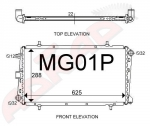 MG F TF Series Radiator