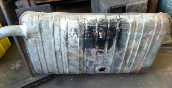 1937 Buick fuel tank.