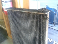 Dirt in your radiator can cause over heating issues in your vehicle