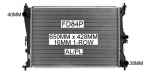 Ford Falcon FG Radiator